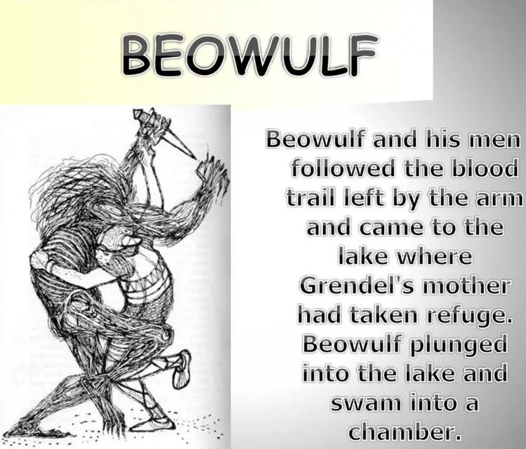 Беовульф: краткое содержание по главам