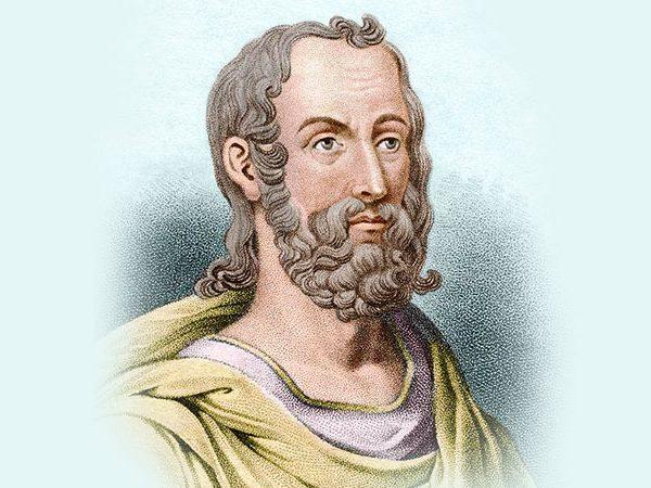 Древнегреческий поэт Феогнид