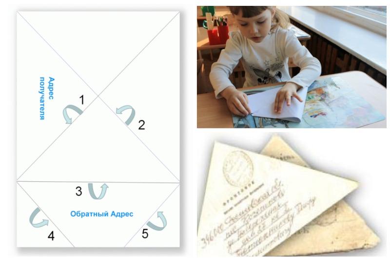 Письмо-треуголка
