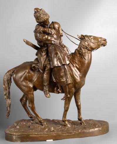 Скульптура Е.А. Лансере