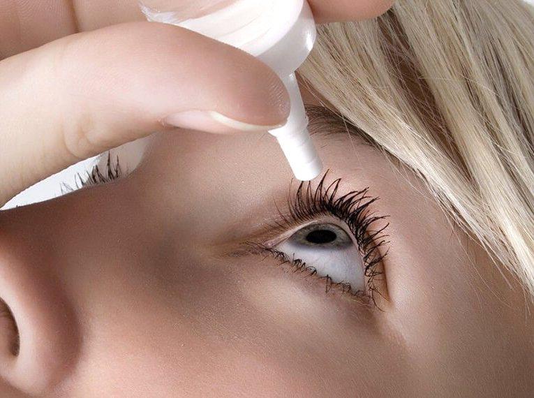 Увлажняющие капли для глаз