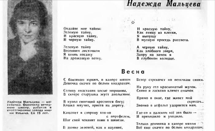 Надежда Мальцева: биография, творчество, карьера, личная жизнь