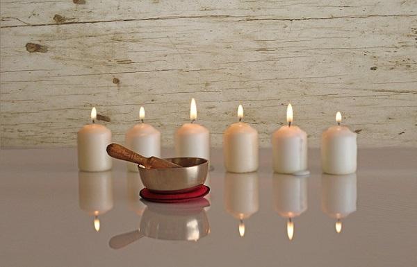 Поющие чаши и гонг для медитации