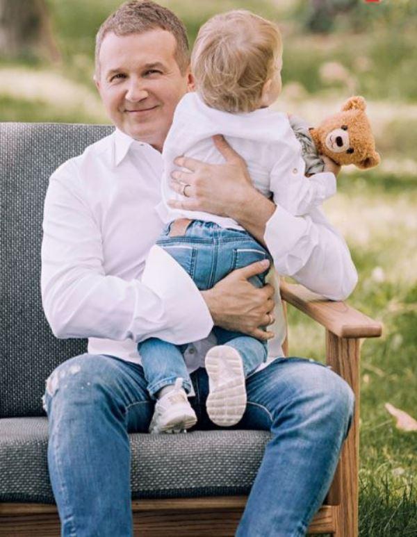 Юрий Николаевич Горбунов с сыном