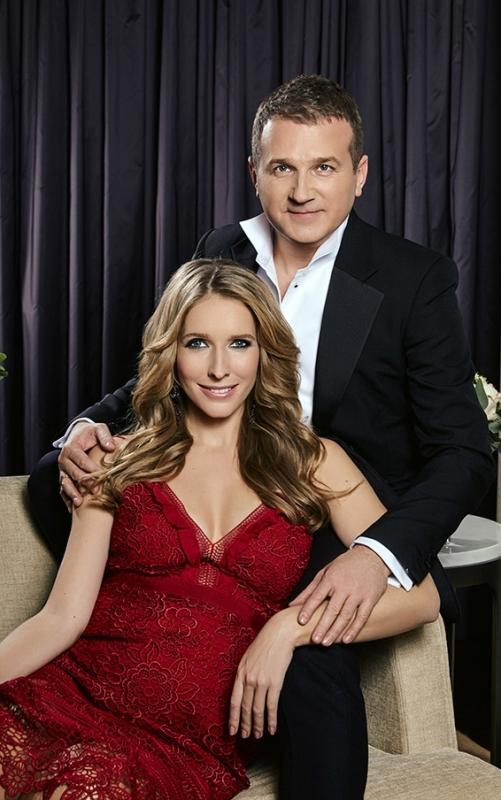 Горбунов с женой
