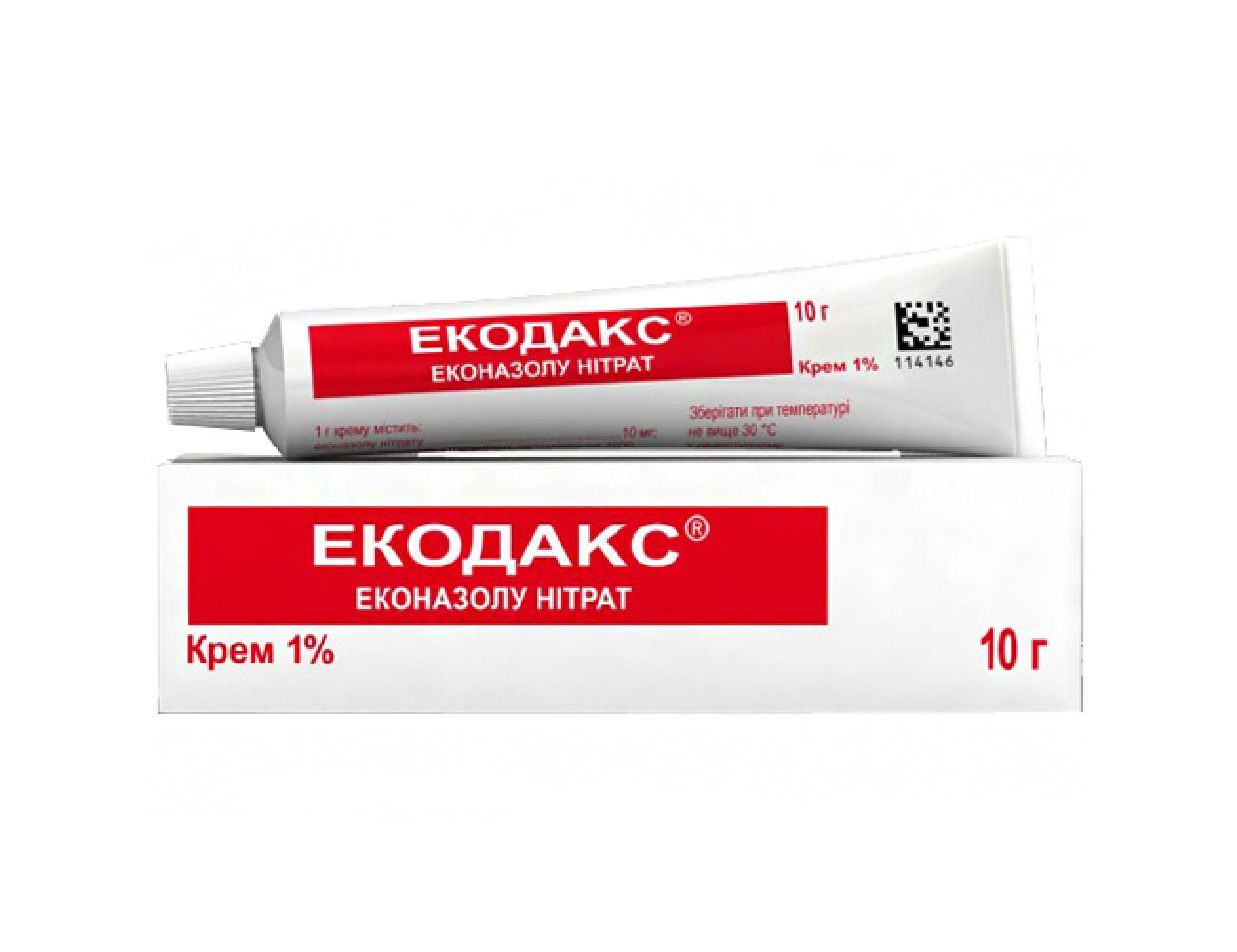 Экодакс крем инструкция по применению