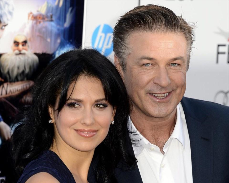 алек болдуин и его жены фото них