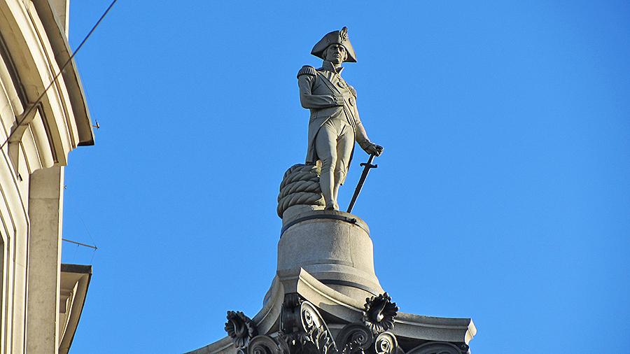 Памятник Горацио Нельсону в Лондоне