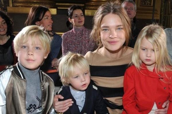 Наталья Водянова и ее дети