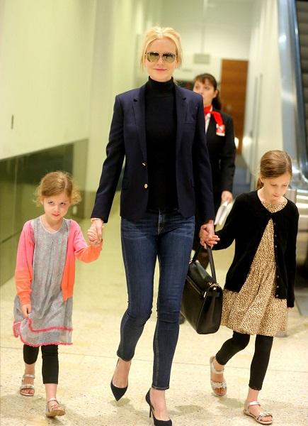 Николь Кидман и ее дочери