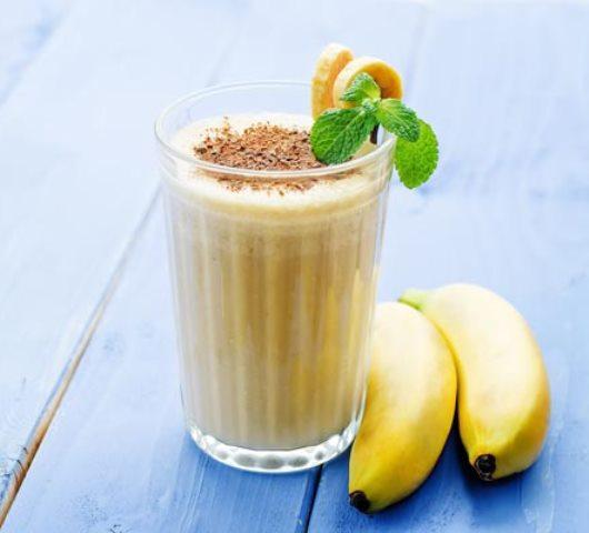 Банановый коктейль «Простой»