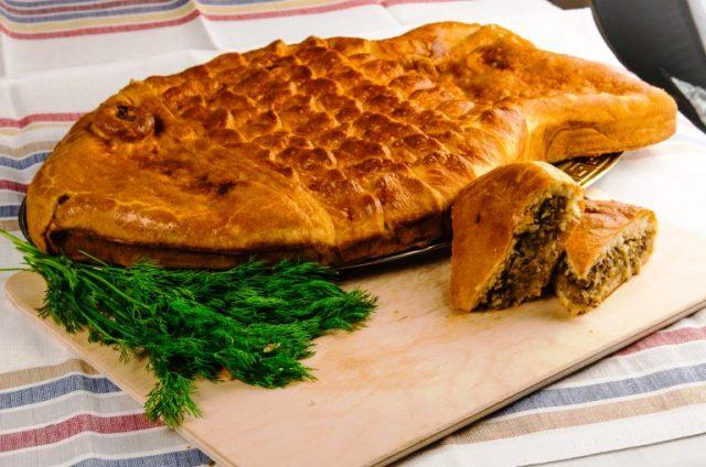 Тесто для пирогов и пирожков с рыбой