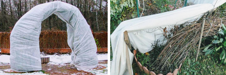 Кращі матеріали для укриття багаторічних квітів на зиму