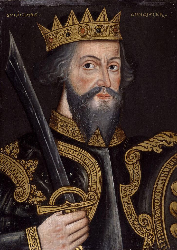 Портрет короля Вильгельма I Завоевателя. Неизвестный художник