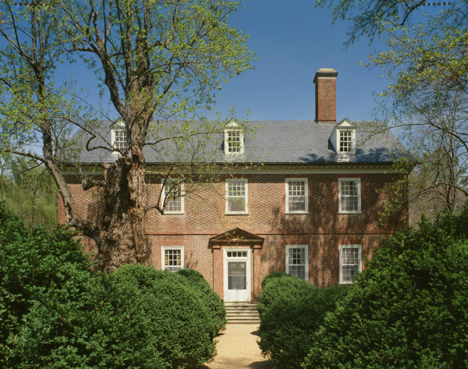 Дом, в котором родился Уильям Генри Гаррисон
