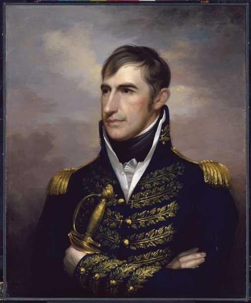 Портрет Уильяма Генри Гаррисона. Неизвестный художник