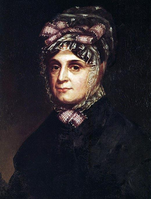 Портрет Анны Татхилл Гаррисон. Неизвестный художник