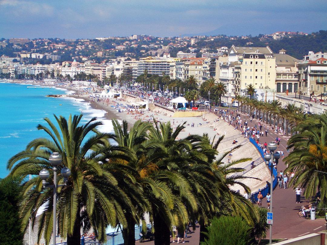 Французский город Ницца, где родился и вырос Франсис Ле