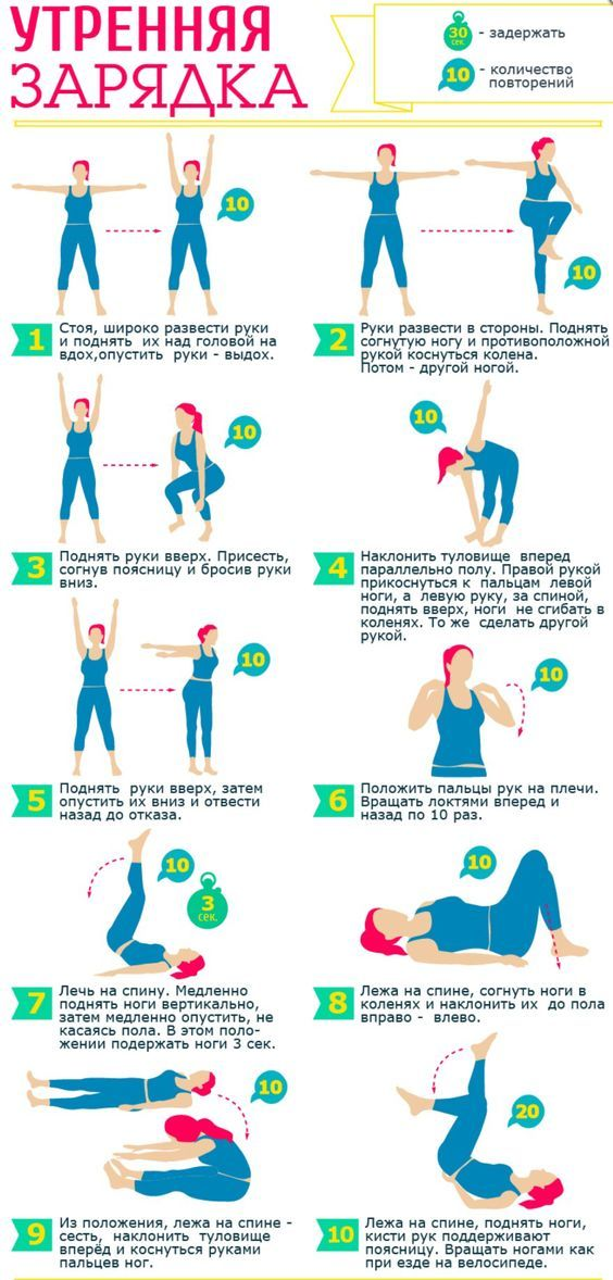 Упражнения, которые можно делать дома