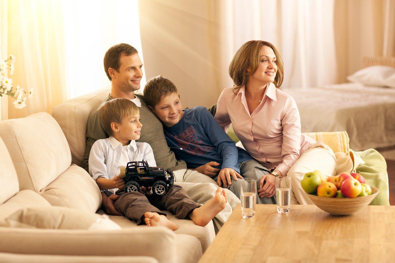 Картинка дома и семьи