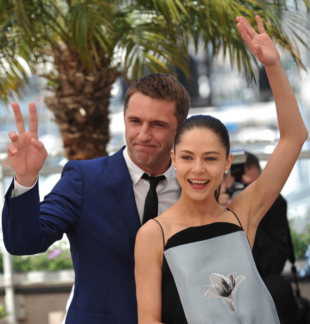 Елена Лядова с мужем Владимиром Вдовинченковым