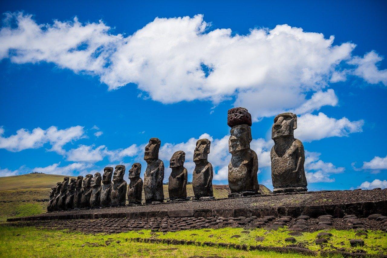 Аху Тонгарики остров Пасхи