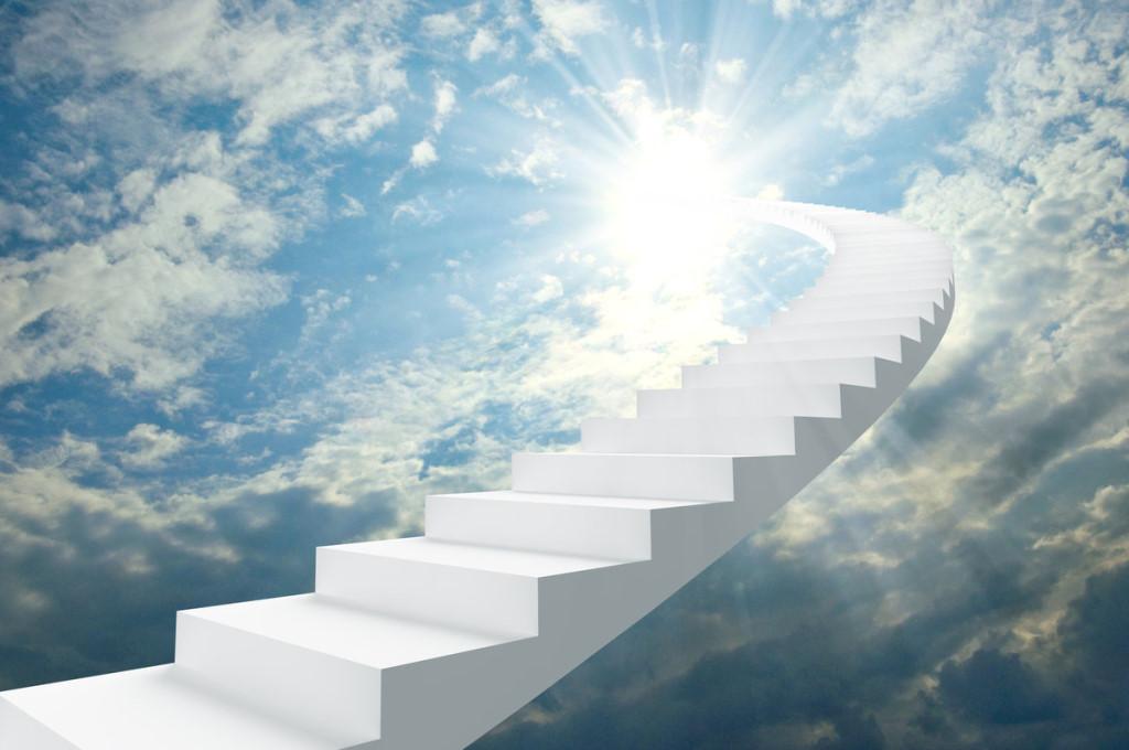 Приснилась лестница в небеса