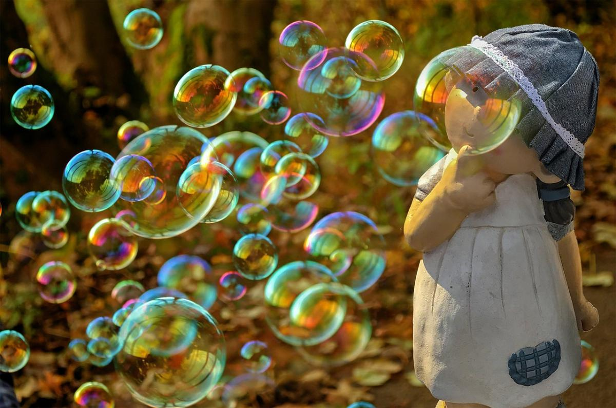 Большие картинки с пузырьками возможности