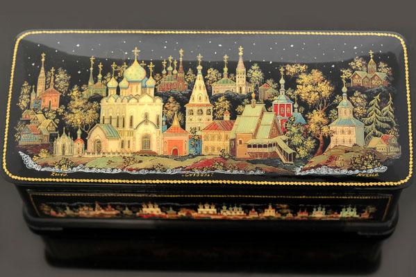 Народные промыслы России: Холуйская миниатюра