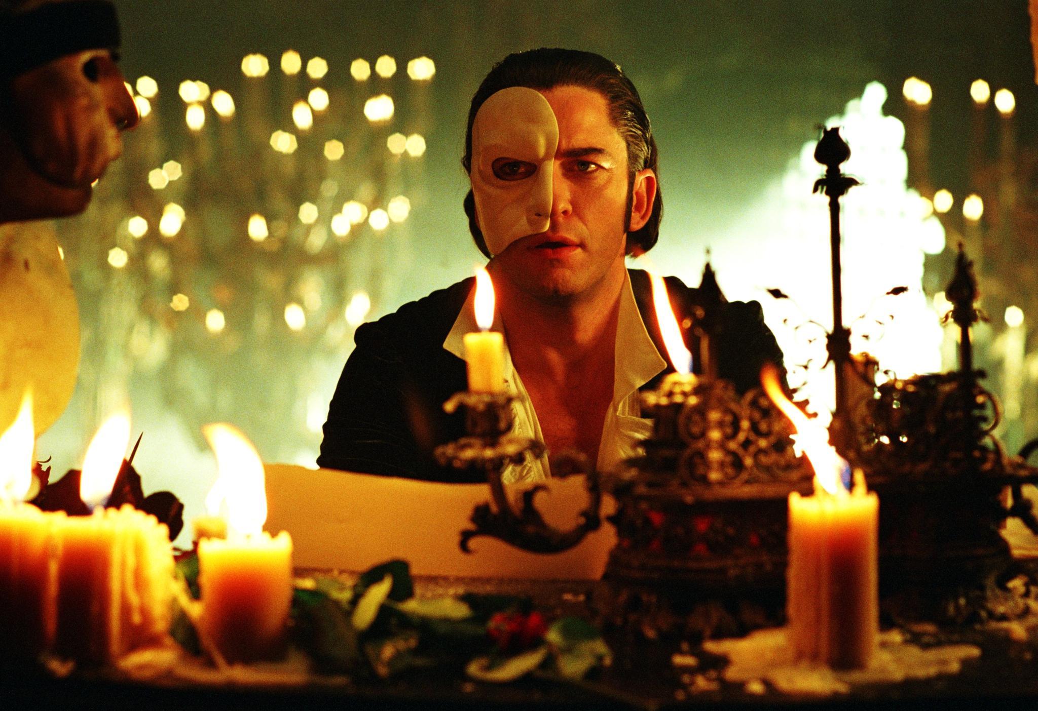 Джерард Батлер в мюзикле «Призрак оперы»