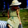 Платье крючком для дочки