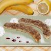 Как приготовить бананы, запеченные с орехами