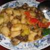 Филе белой рыбы в кисло-сладком соусе