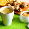 Как сделать освежающий имбирный чай