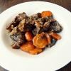 Как приготовить тушеную говядину с морковью