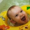 Как купать ребенка с кругом