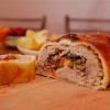 Как приготовить мясной штрудель из говядины