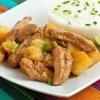 Как приготовить курицу с ананасами в кисло-сладком соусе карри