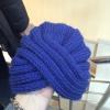 Как связать шапку-чалму легко и просто