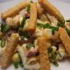 Салат с кириешками - 3 лучших рецепта