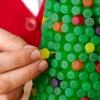 Как сделать новогоднюю елку из мармелада