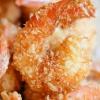 Как приготовить креветки в кокосовой стружке