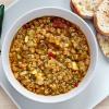 Как сварить сытный суп с красной чечевицей и пряностями
