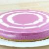 Двухцветный творожный торт
