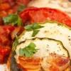 Запеченные цукини с помидорами и сыром