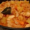 Как приготовить тушеную капусту с картофелем и мясом