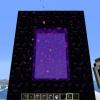 Как сделать портал в космос в Майнкрафте