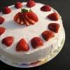 Тортик со взбитыми сливками