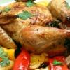 Цыпленок со сладким перцем