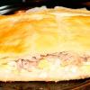 Картофельная запеканка со шпротами